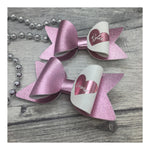 Personalised Love Heart Bow