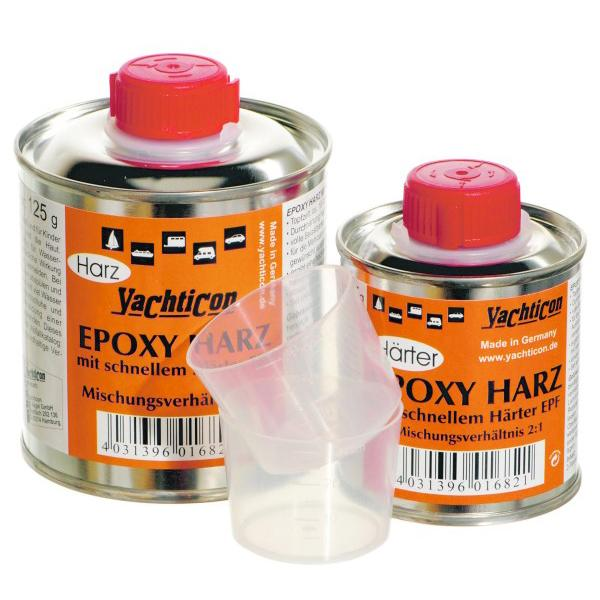 EPOXY RESIN WITH FAST HARDENER