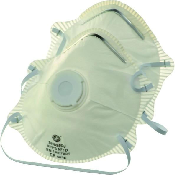 FINE DUST MASK WITH VALVE FFP2