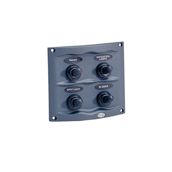 SWITCH PANEL 4 WAY COMPACT