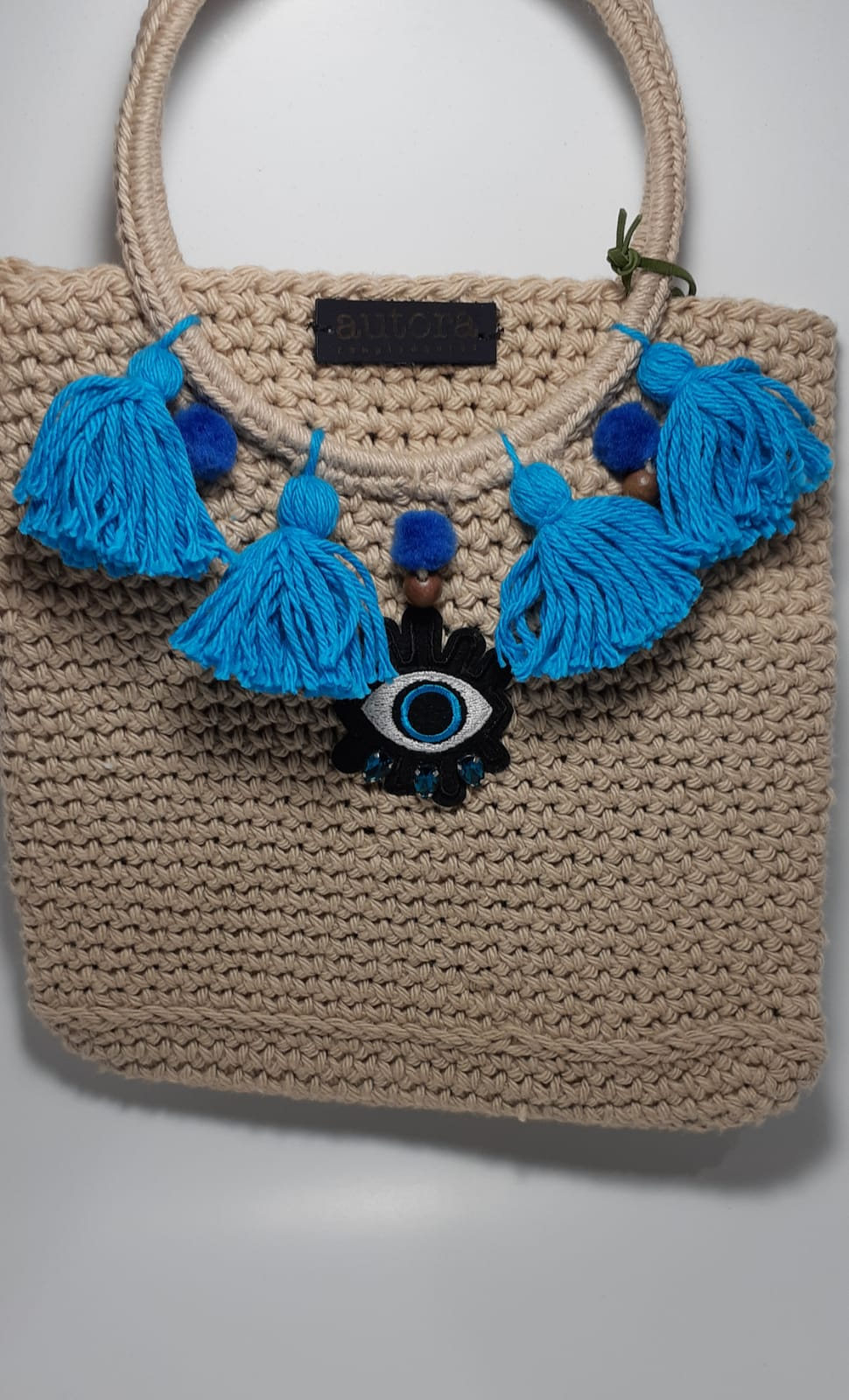 Evil eye boho bag - Andy & Rachel Studio