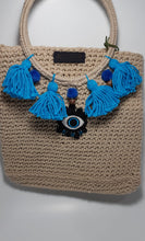 Load image into Gallery viewer, Evil eye boho bag - Andy & Rachel Studio