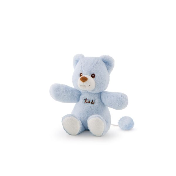 Cremino Bear Music Box Light Blue - 26cm