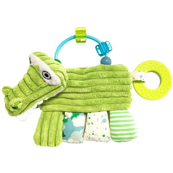 Discovery Activity Rattle and Teether Aligatos the Crocodile