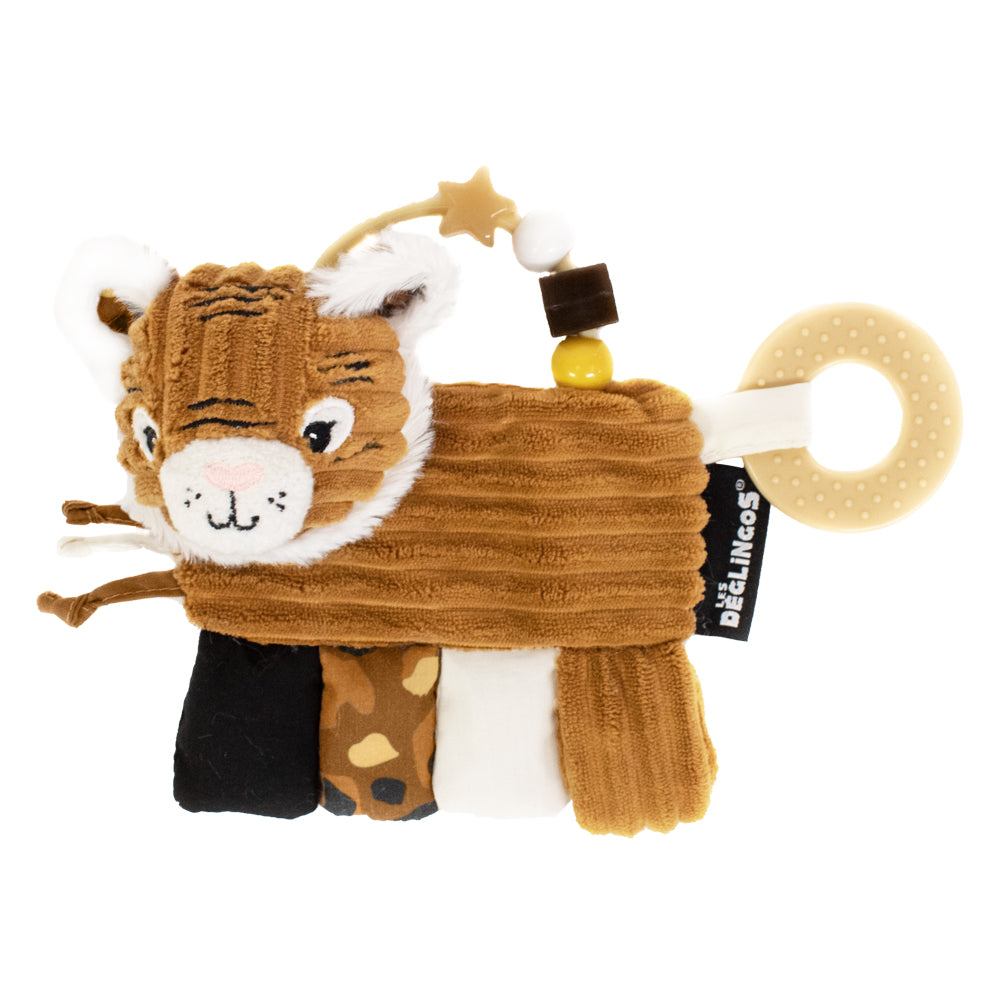 Activity Rattle and Teether Speculos the Tiger