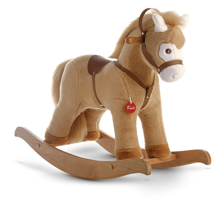 Rocking Horse Beige Ride on - JUMBO