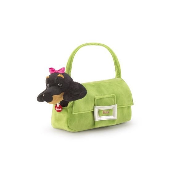 Pets Basset Fashion Bag Green - 20cm