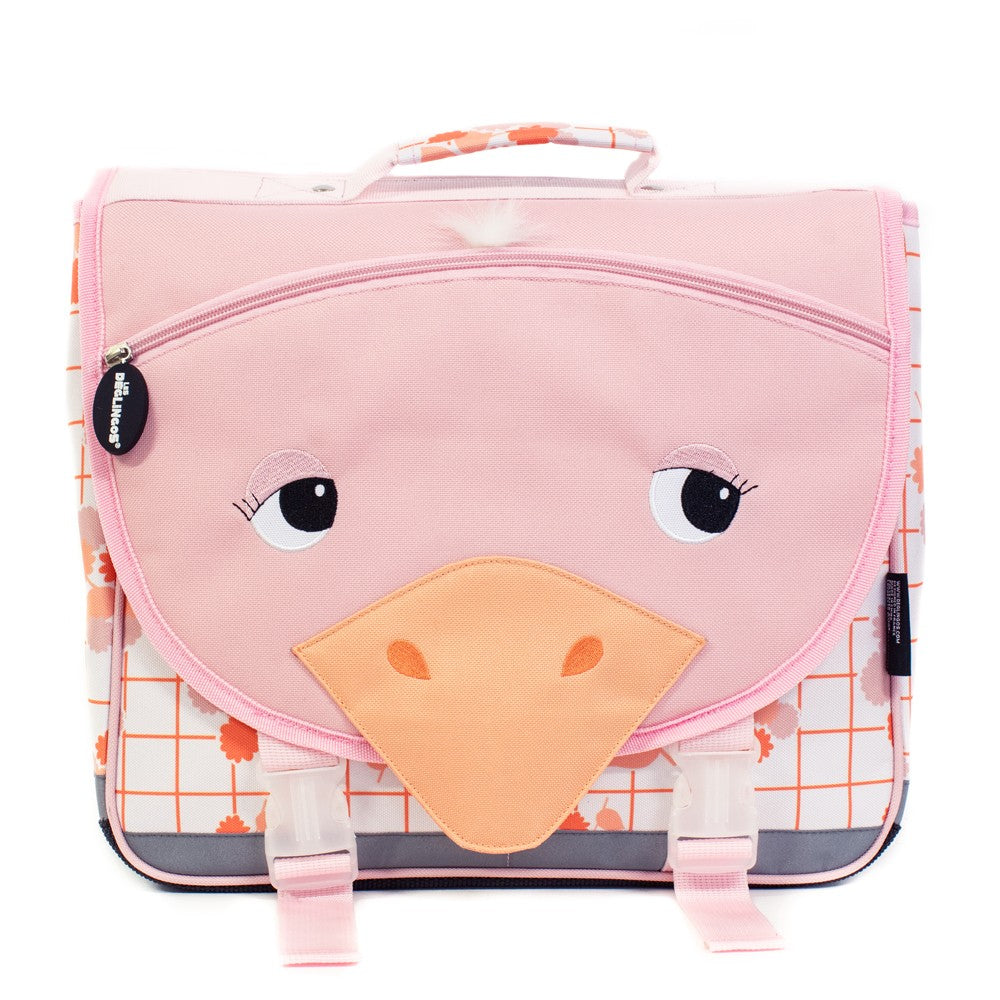 Backpack Satchel School Bag (35cm) Pomelos the Ostrich