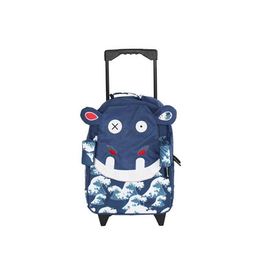 Medium Trolley Backpack Hippipos the Hippos