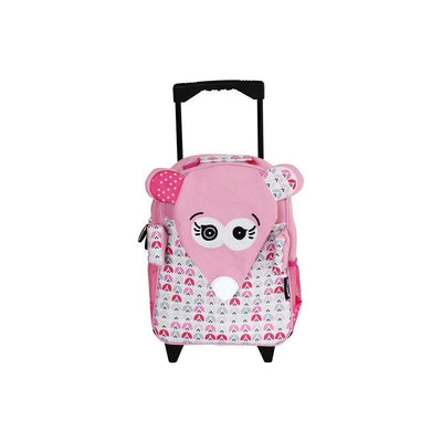 Medium Trolley Backpack  Coquelicos the Mouse