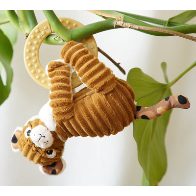 Teething Ring Plush Speculos the Tiger