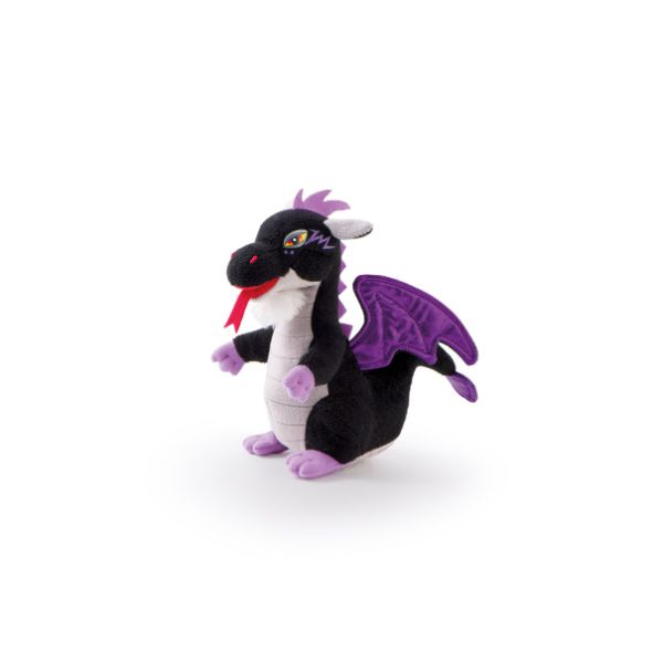 Fantasy Mini Dragon Black - 14cm