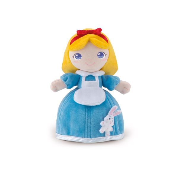 Friends Rag Doll Alyssa with Bunny - 24cm