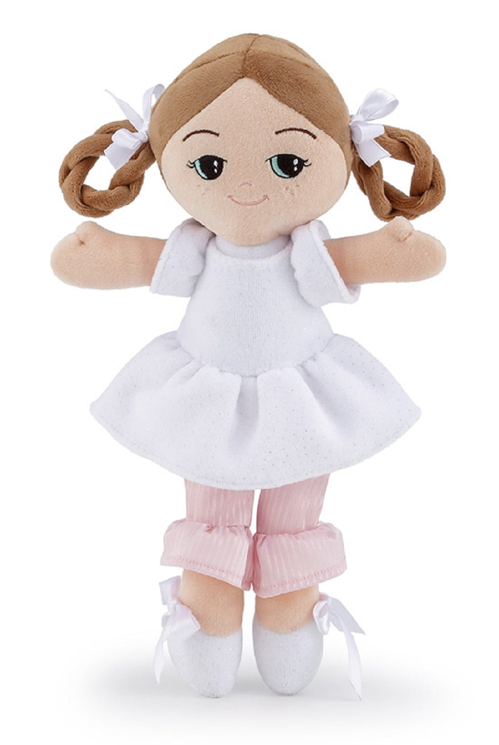 Ballerina Shoes Rag Doll White - 24cm