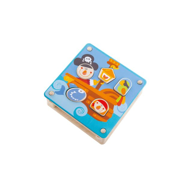 Sevi Wooden Pirates Sorting Puzzle Game