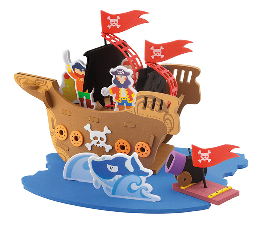 Sevi Pirate's Ship Soft Play Set - 48 pieces