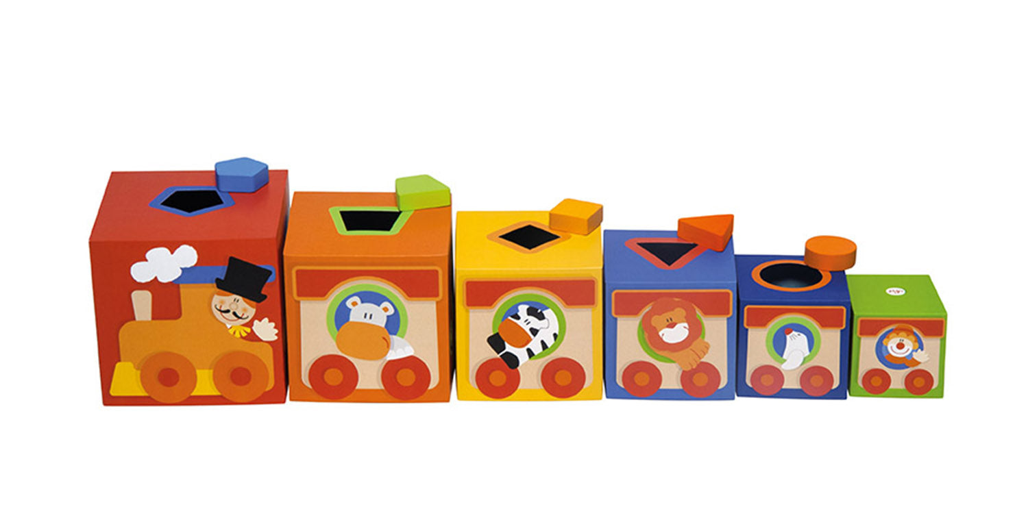 Sevi Stacking Cubes Circus