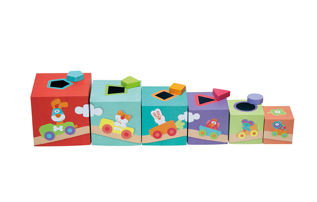 Stacking Cubes Farm