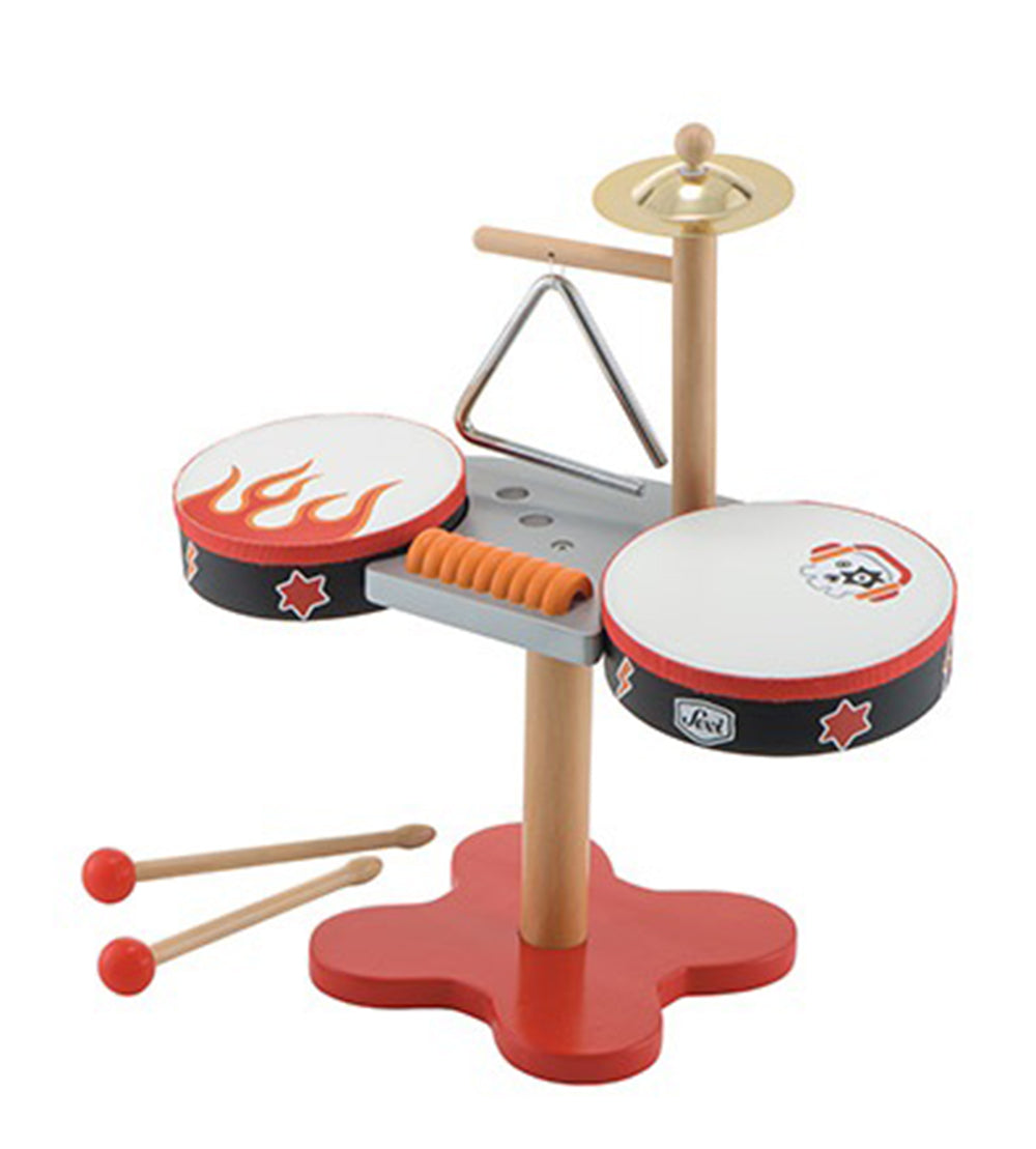 Sevi Wooden Rock Drum Set Small
