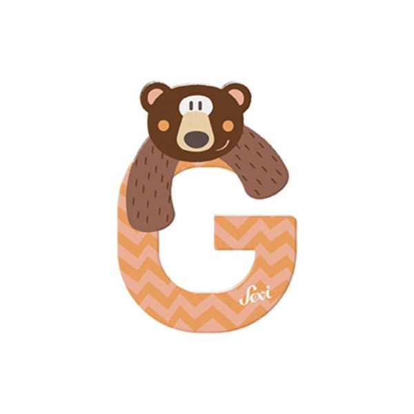 Sevi Letter G Grizzly