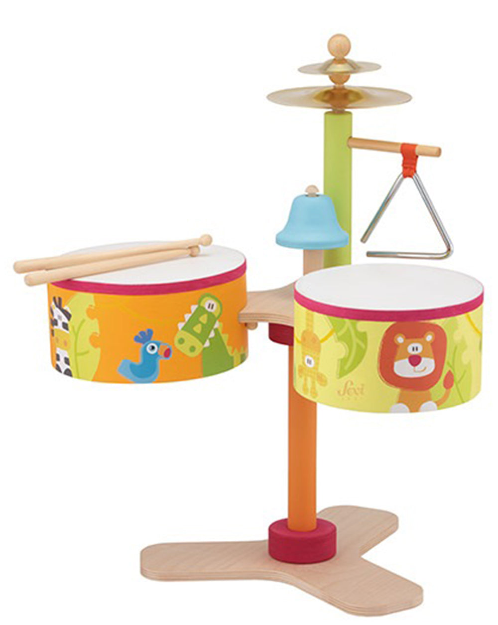 Sevi Wooden Savannah Drum Set