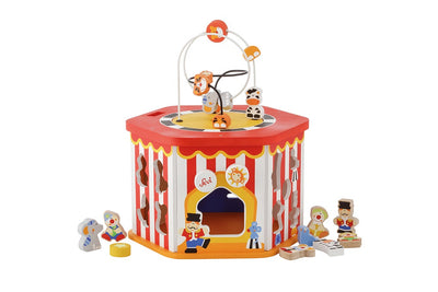 Sevi Wooden 7 in 1 Multifunction Circus - 41cm