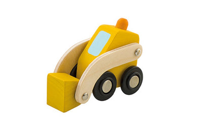 Sevi Wooden Mini Bulldozer - 7cm