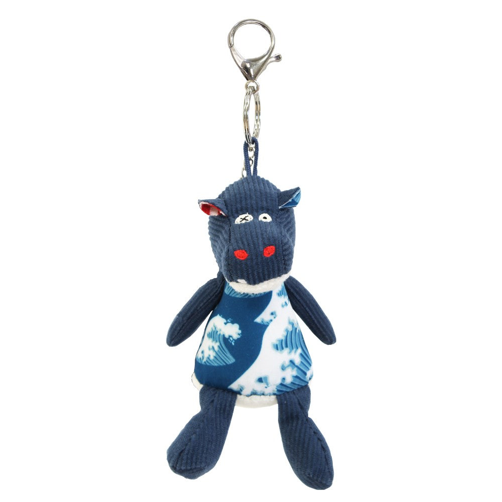 Keyring / Bag Charm Hippipos the Hippo