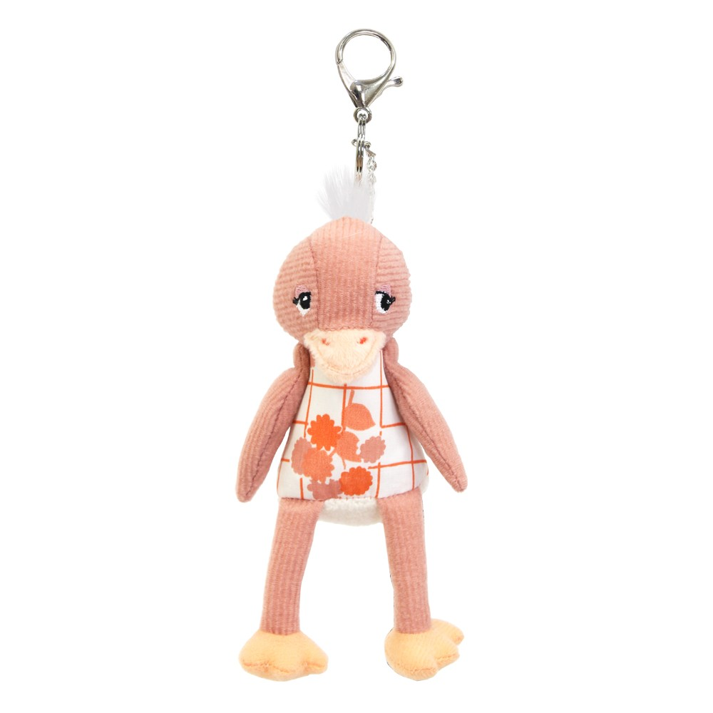Keyring / Bag Charm Pomelos the Ostrich
