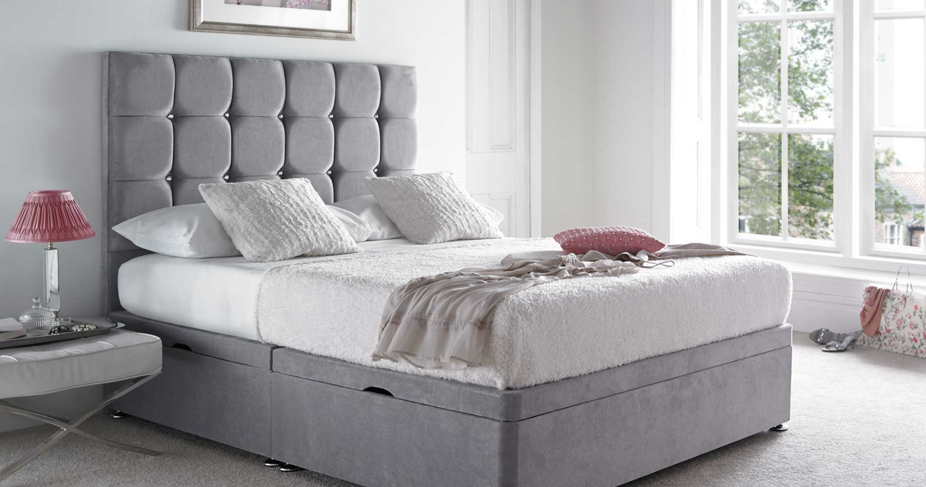 Diamante Bed | Crystals