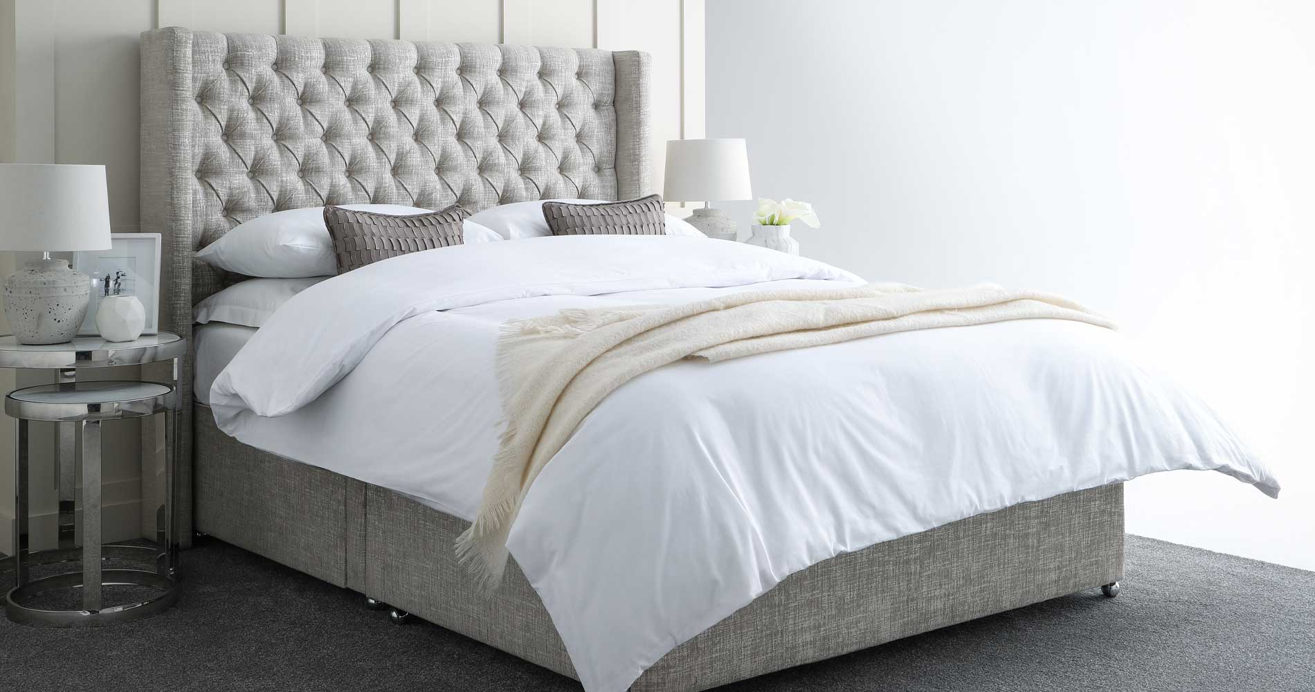 Winged Beds | Winged Headboard
