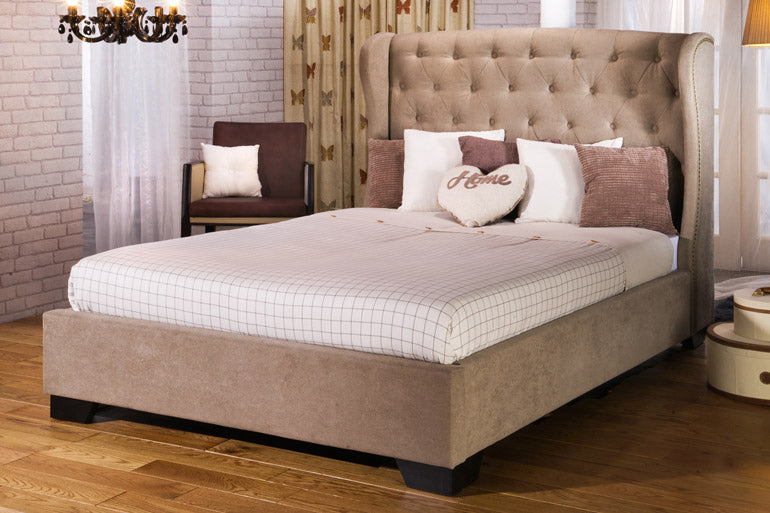 Capella Winged Bed