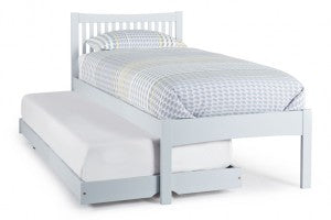 Grey Wooden Guest Bed