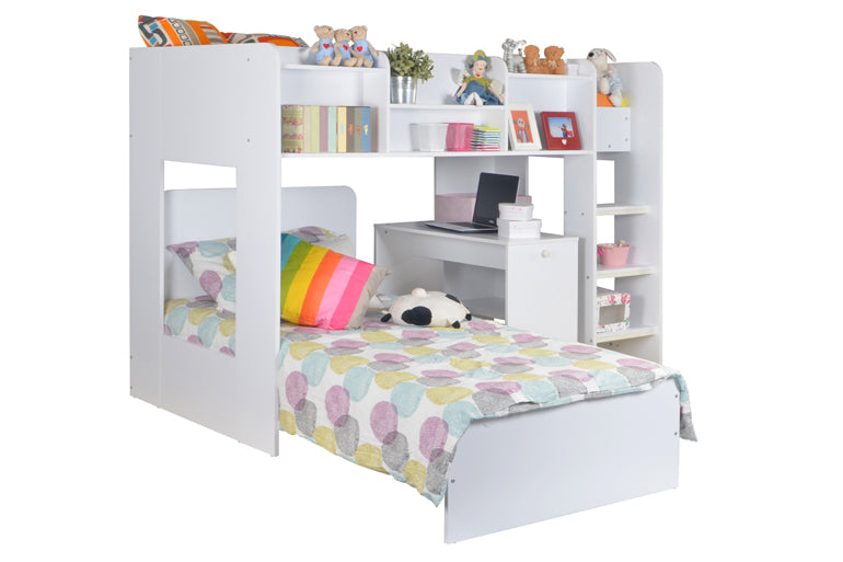 WIZARD 'L' SHAPED BUNK BED