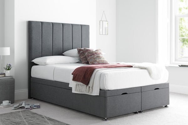4ft Small Double Ottoman Bed