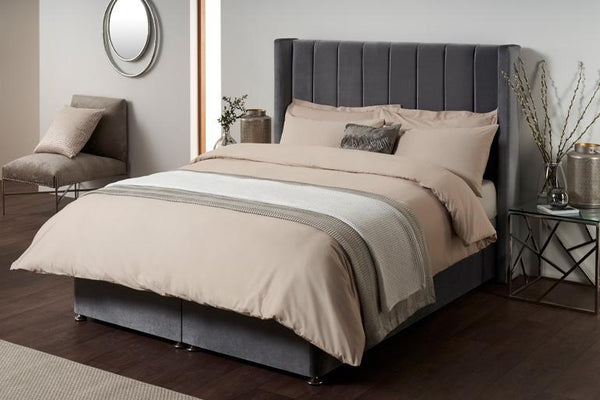 Modern Winged Ottoman Bed?