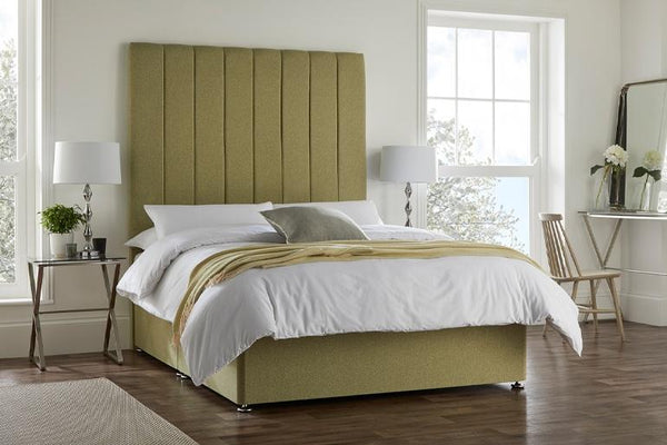 Bed With A Tall Headboard