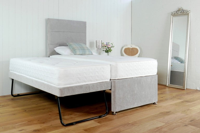 Fabric Upholstered Guest Bed