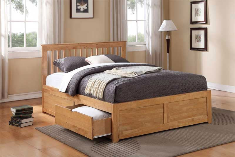 Pentre - Wooden Storage Beds