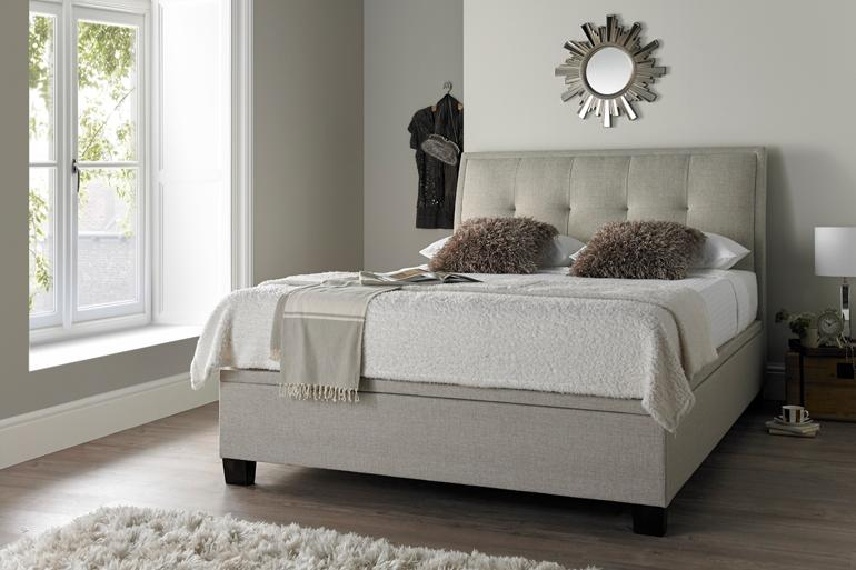 Kaydian Accent Ottoman Bed - Beds on Legs Ltd