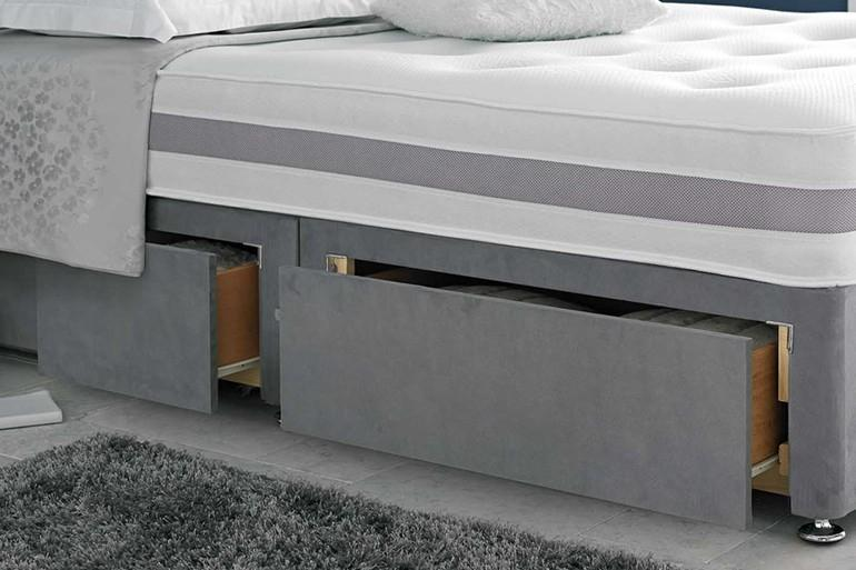 Essential Divan Bed Package with Free Headboard & 2 Drawers