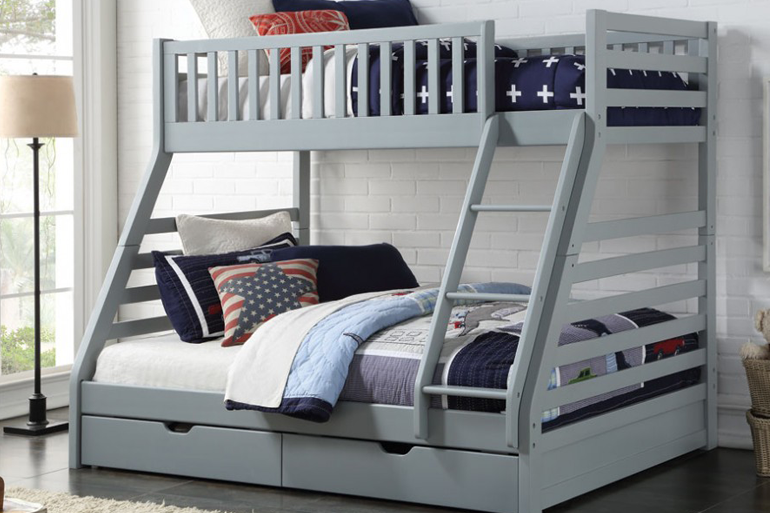 Sweet Dreams States Triple Bunk Bed - Beds on Legs Ltd
