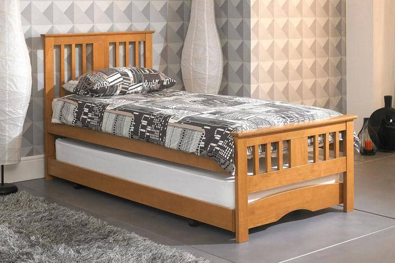 Swift Wooden Guest Bed - Beds on Legs Ltd
