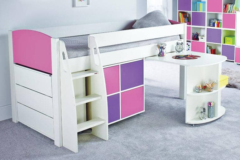 Stompa UNOS Mid Sleeper Set UNOS3AD - Beds on Legs Ltd