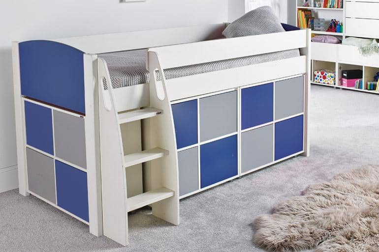 Stompa UNOS Mid Sleeper Set UNOS4D - Beds on Legs Ltd