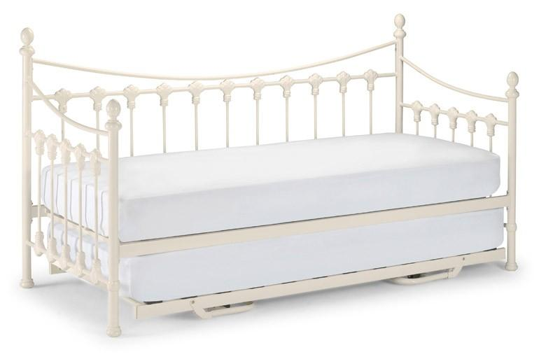 Julian Bowen Versailles Day Bed with Trundle Guest Bed - Beds on Legs Ltd