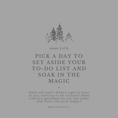 Pick a Day to Set Aside Your To-Do List and Soak in the Magic