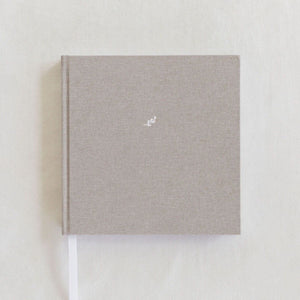Dear Mom Journal in Warm Grey