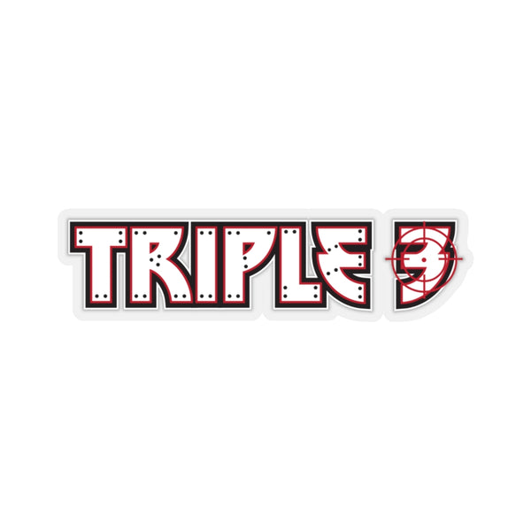 Black Ocean: Triple 3 sticker