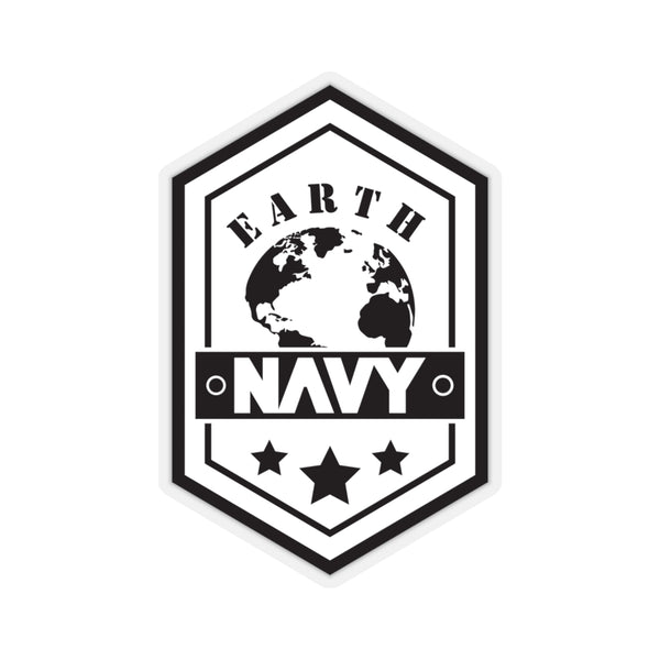 Black Ocean: Earth Navy Stickers